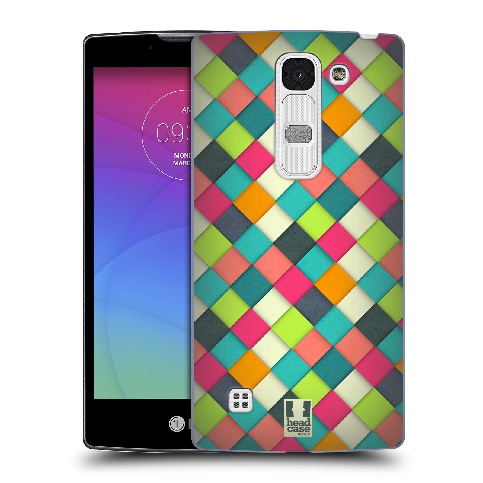 Plastové pouzdro na mobil LG Spirit LTE HEAD CASE WOVEN (Kryt či obal na mobilní telefon LG Spirit H420 a LG Spirit LTE H440N)