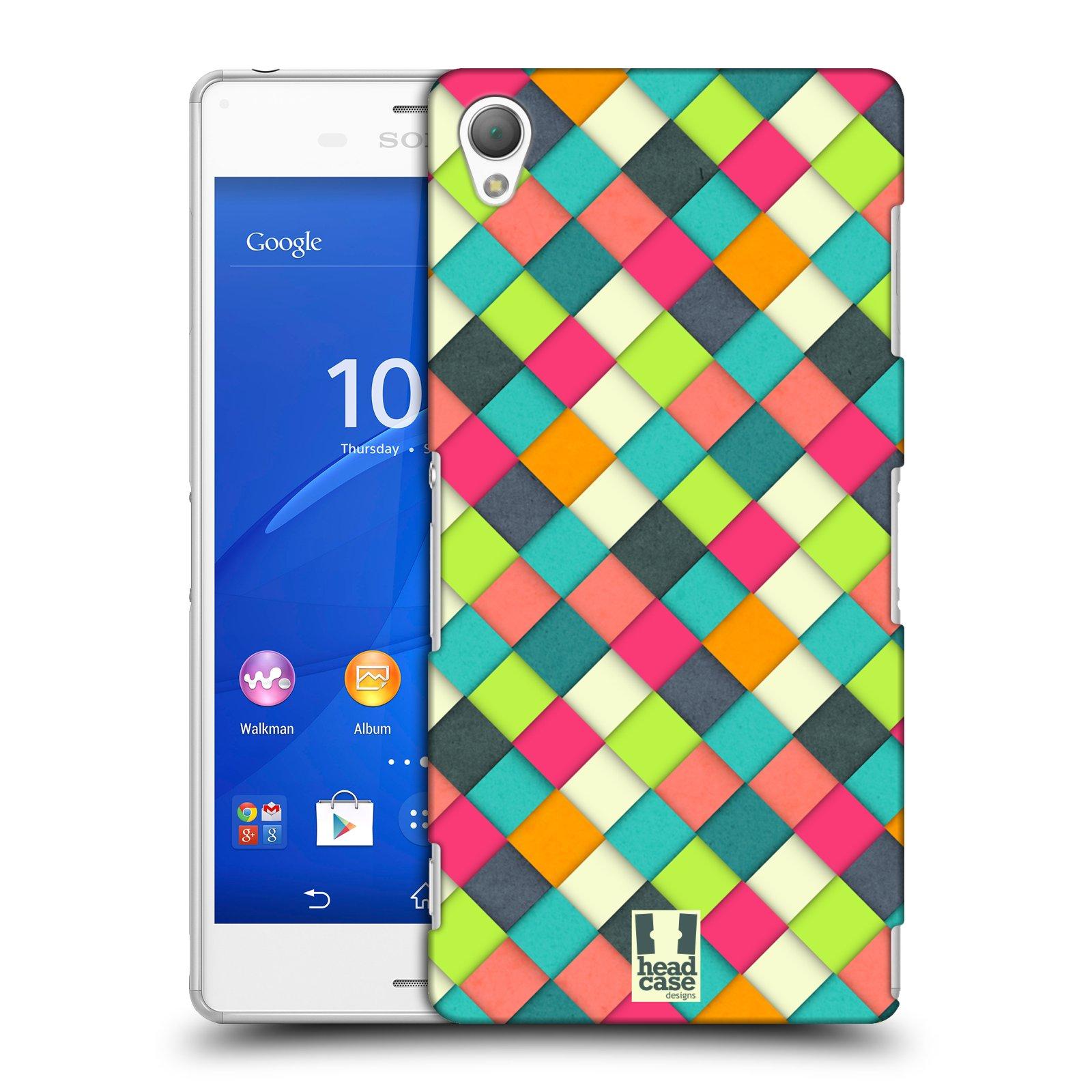 Plastové pouzdro na mobil Sony Xperia Z3 D6603 HEAD CASE WOVEN (Kryt či obal na mobilní telefon Sony Xperia Z3 )