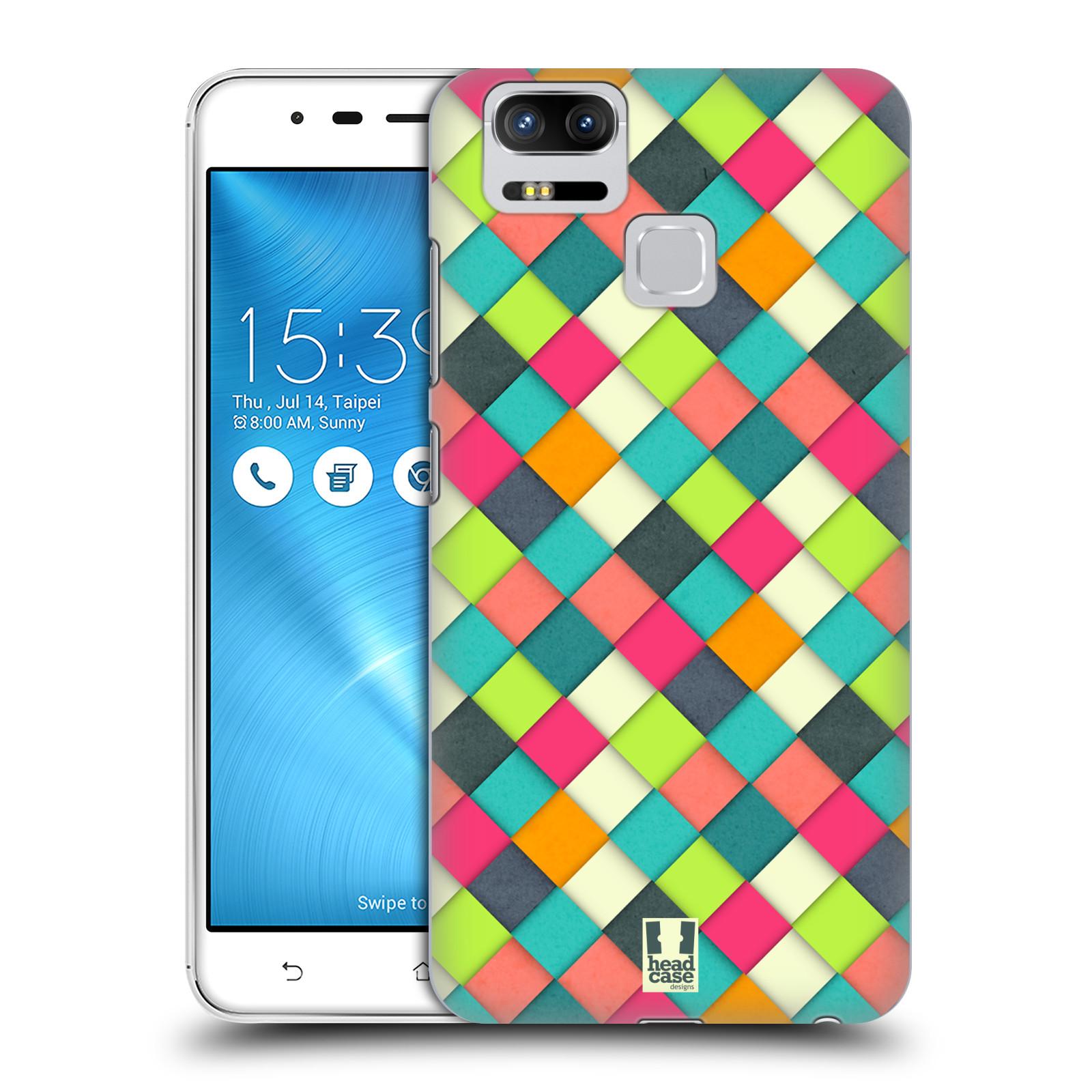 Plastové pouzdro na mobil Asus ZenFone 3 ZOOM ZE553KL - Head Case - WOVEN (Plastový kryt či obal na mobilní telefon Asus ZenFone 3 ZOOM ZE553KL s motivem WOVEN)