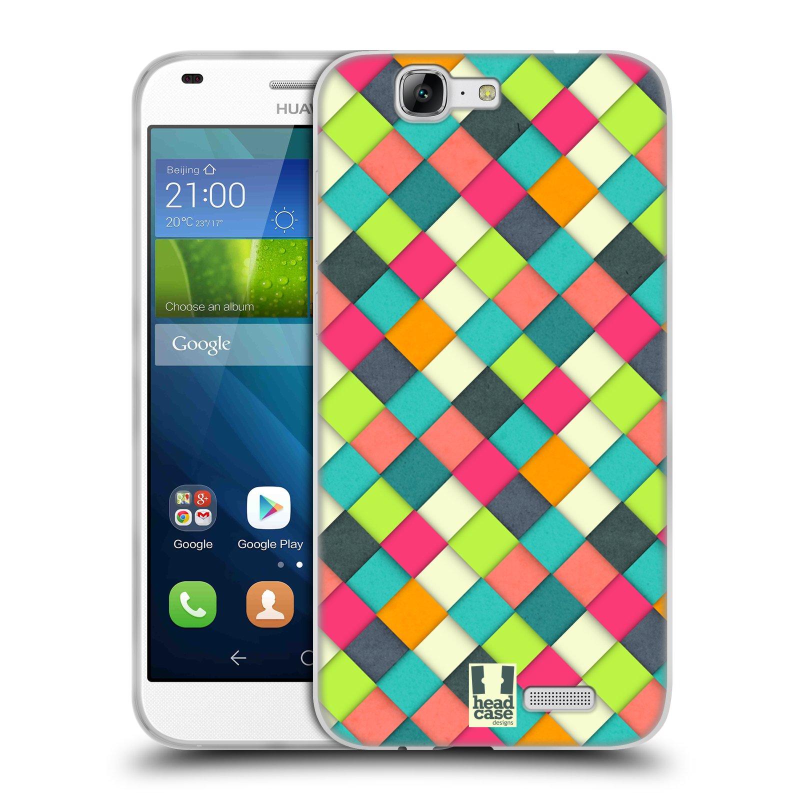 Silikonové pouzdro na mobil Huawei Ascend G7 HEAD CASE WOVEN (Silikonový kryt či obal na mobilní telefon Huawei Ascend G7)