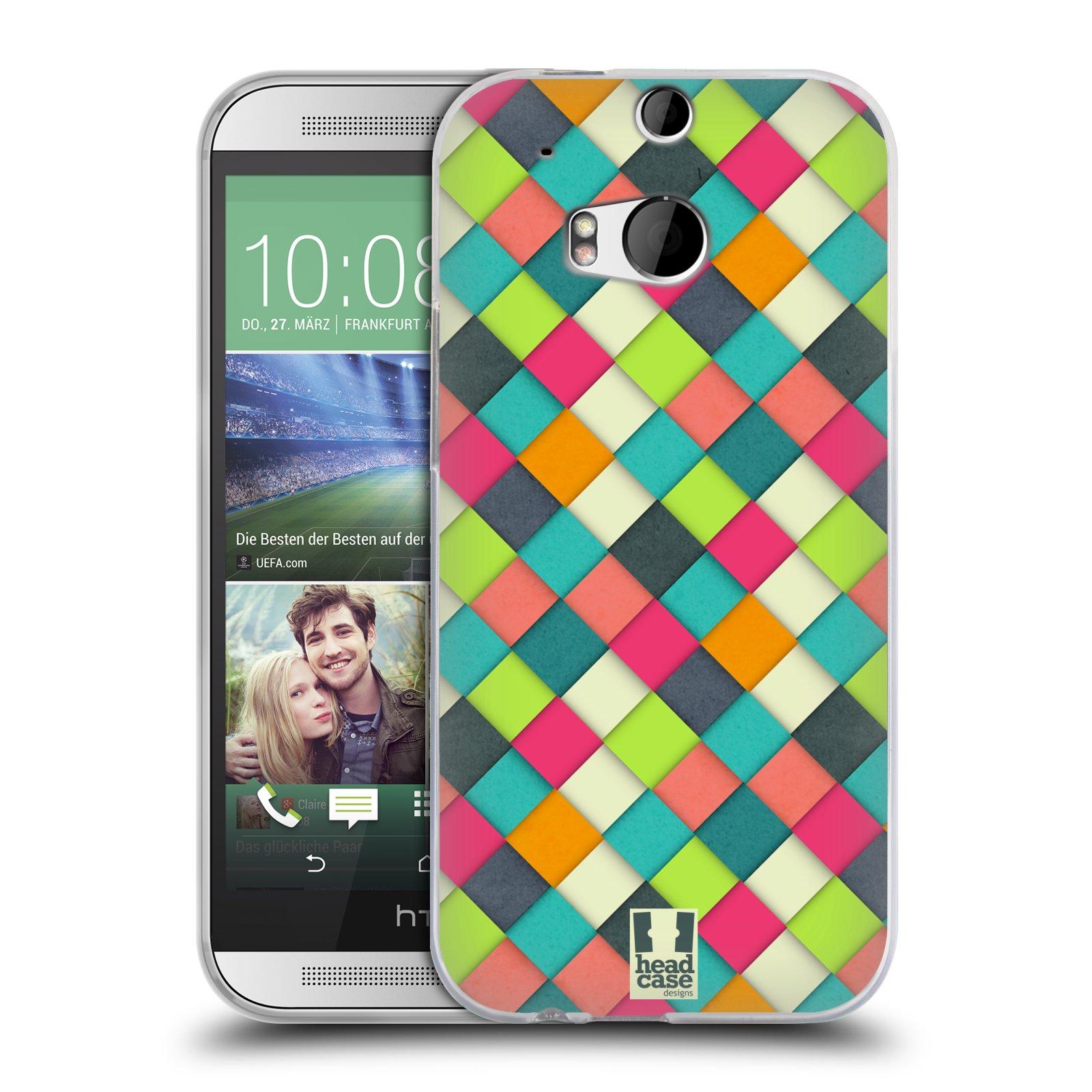 Silikonové pouzdro na mobil HTC ONE M8 HEAD CASE WOVEN (Silikonový kryt či obal na mobilní telefon HTC ONE M8)