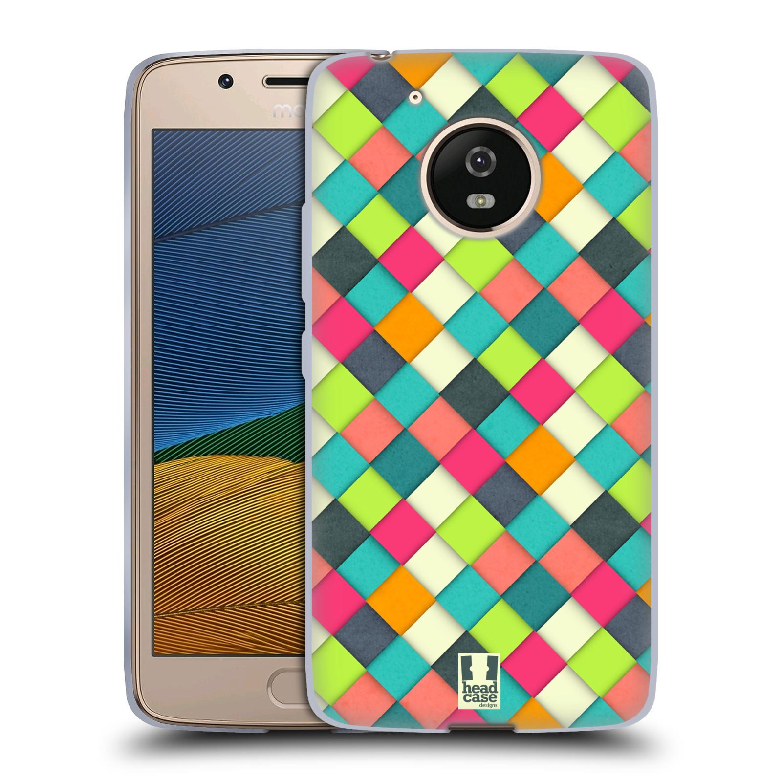 Silikonové pouzdro na mobil Lenovo Moto G5 - Head Case WOVEN (Silikonový kryt či obal na mobilní telefon Lenovo Moto G5)