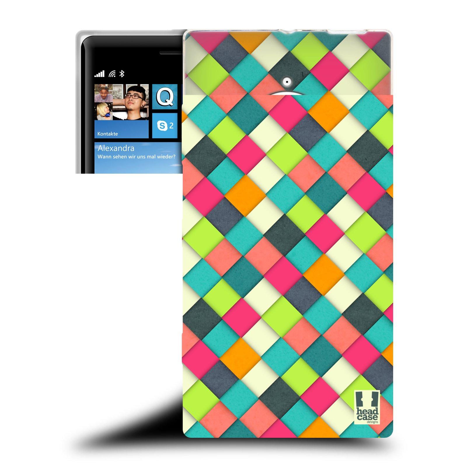 Silikonové pouzdro na mobil Nokia Lumia 830 HEAD CASE WOVEN (Silikonový kryt či obal na mobilní telefon Nokia Lumia 830)