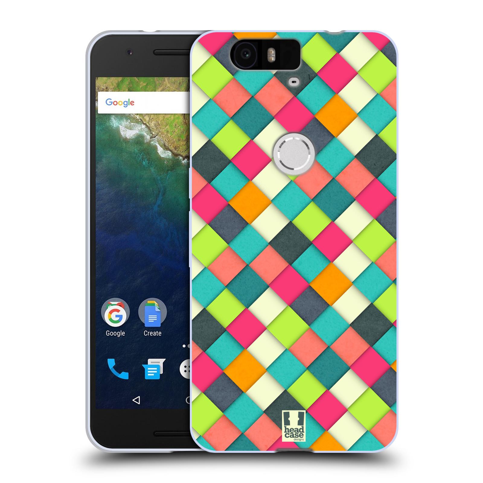 Silikonové pouzdro na mobil Huawei Nexus 6P HEAD CASE WOVEN (Silikonový kryt či obal na mobilní telefon Huawei Nexus 6P)