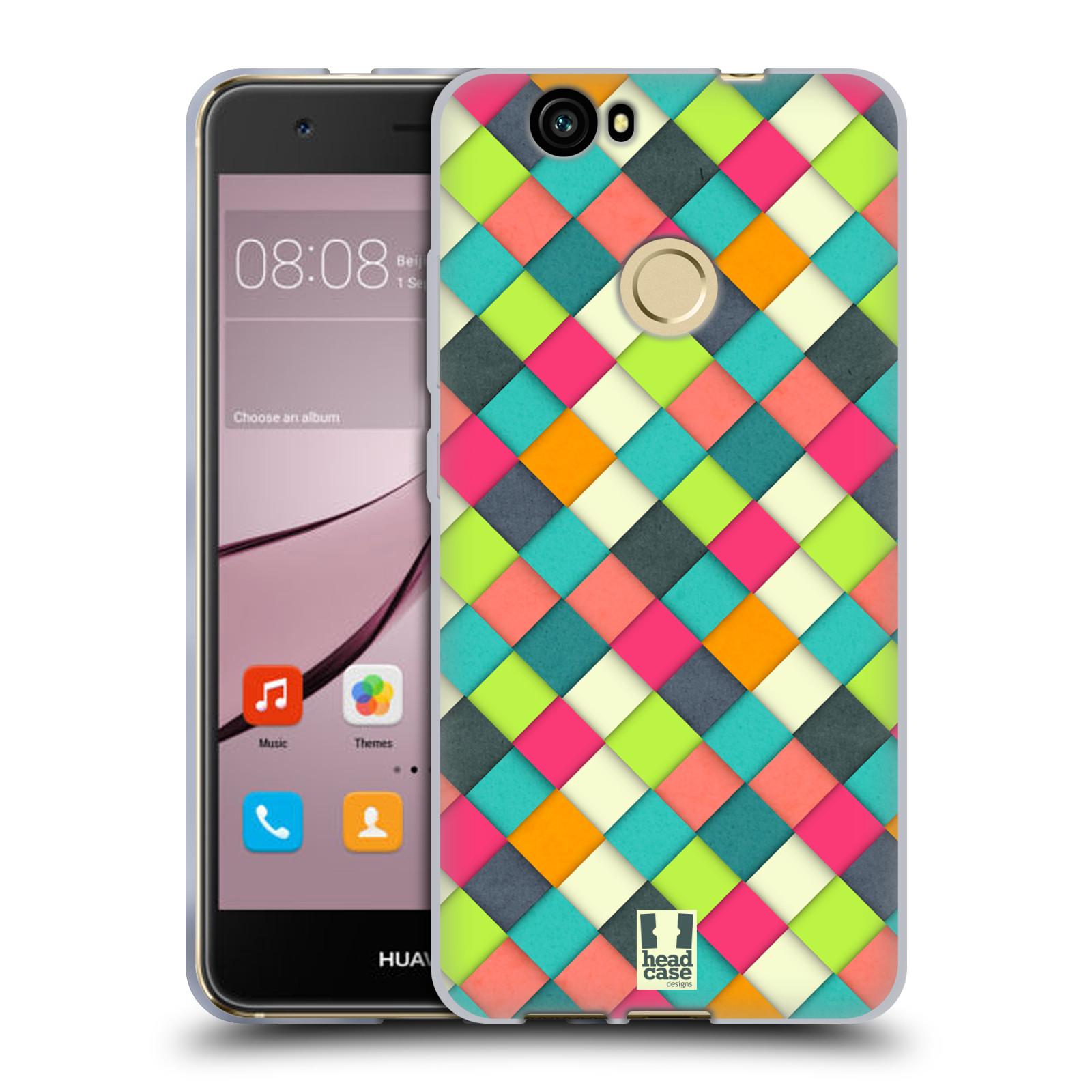 Silikonové pouzdro na mobil Huawei Nova - Head Case - WOVEN