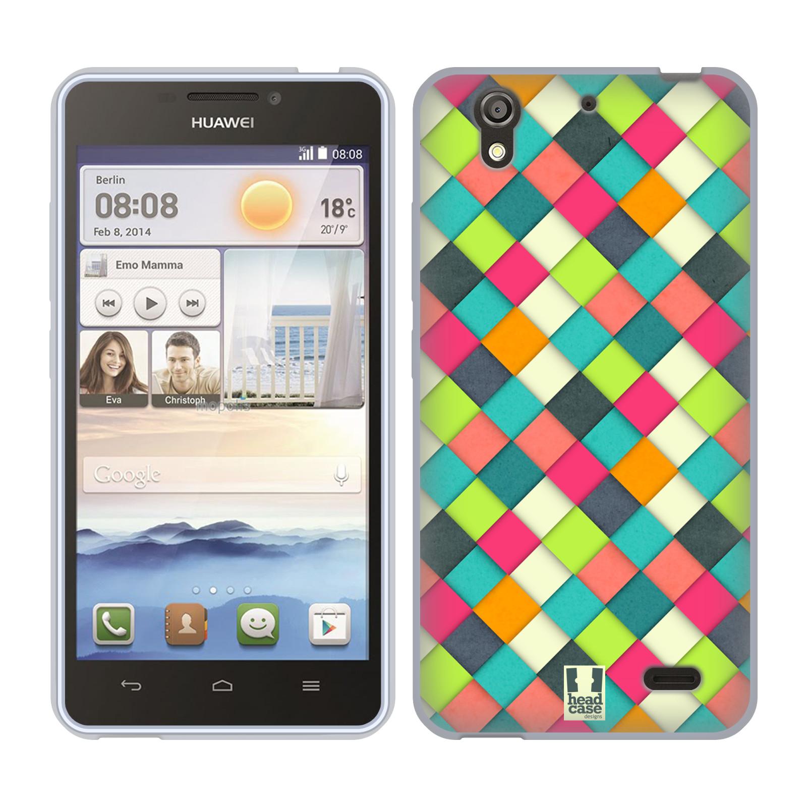 Silikonové pouzdro na mobil Huawei Ascend Y530 HEAD CASE WOVEN (Silikonový kryt či obal na mobilní telefon Huawei Ascend Y530)