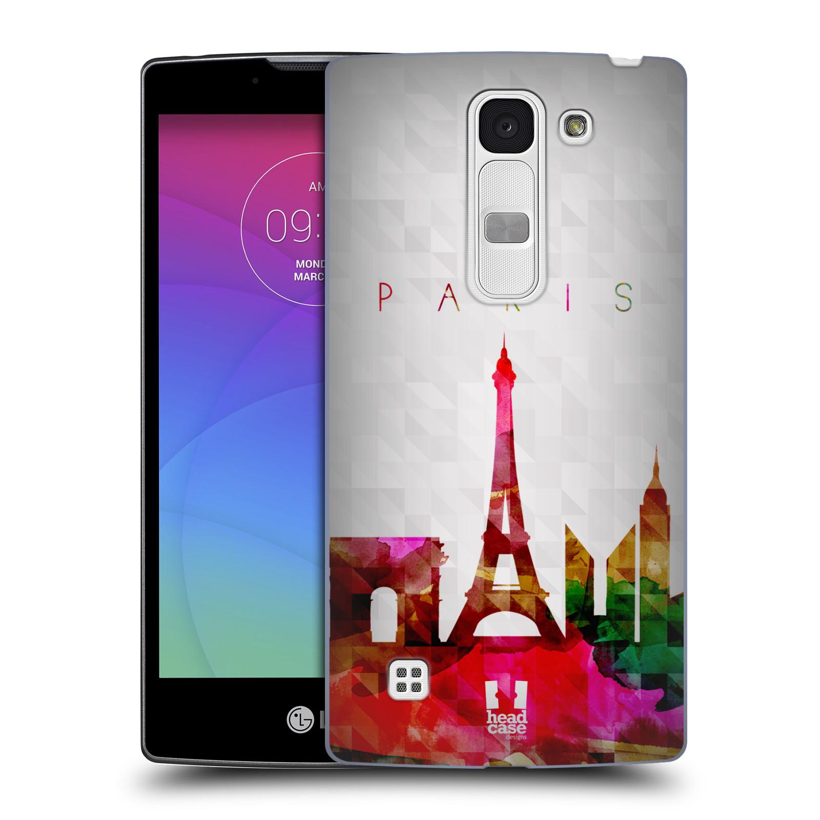 Plastové pouzdro na mobil LG Spirit LTE HEAD CASE SKYLINE PAŘIŽ (Kryt či obal na mobilní telefon LG Spirit H420 a LG Spirit LTE H440N)