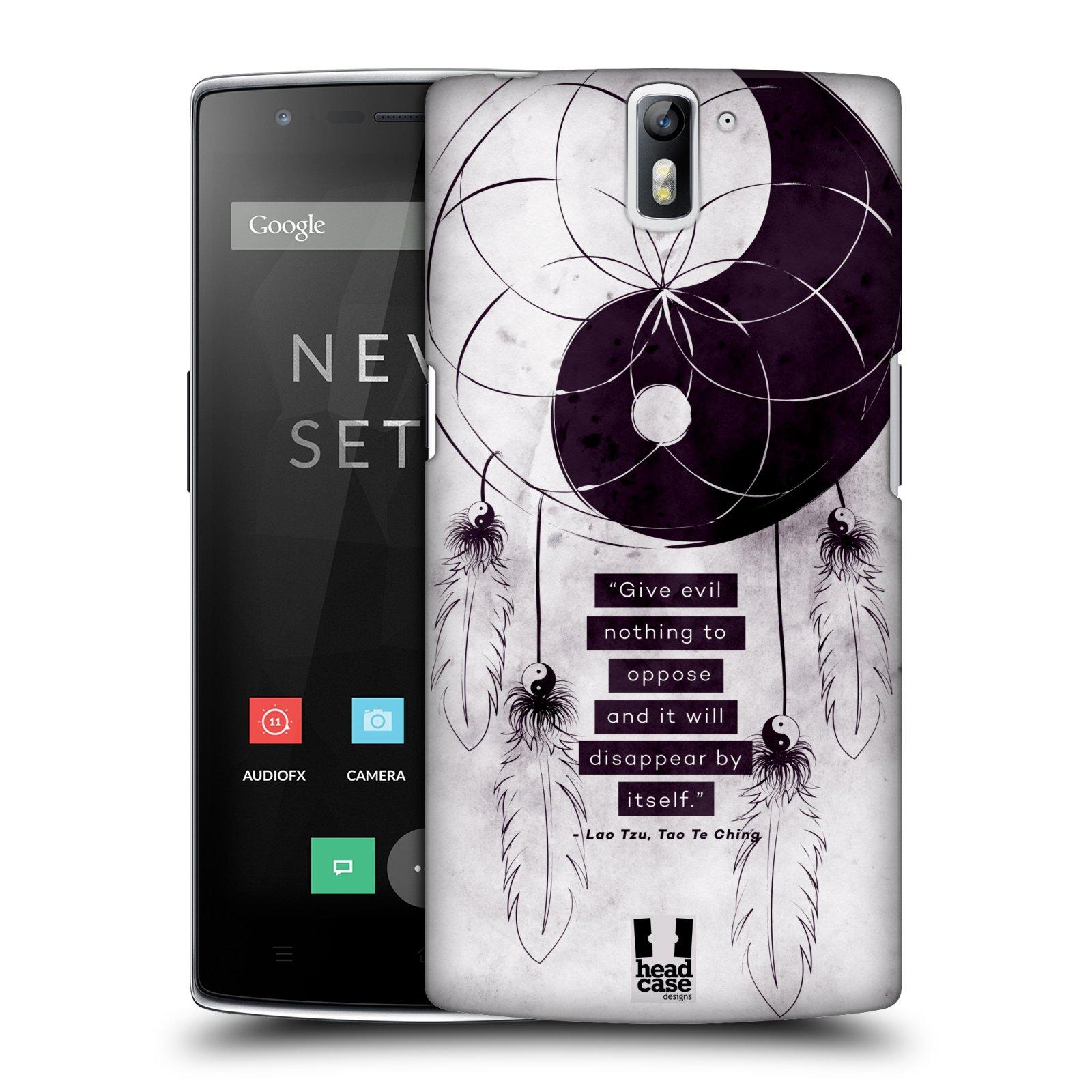 Plastové pouzdro na mobil OnePlus One HEAD CASE Yin a Yang CATCHER (Kryt či obal na mobilní telefon OnePlus One)