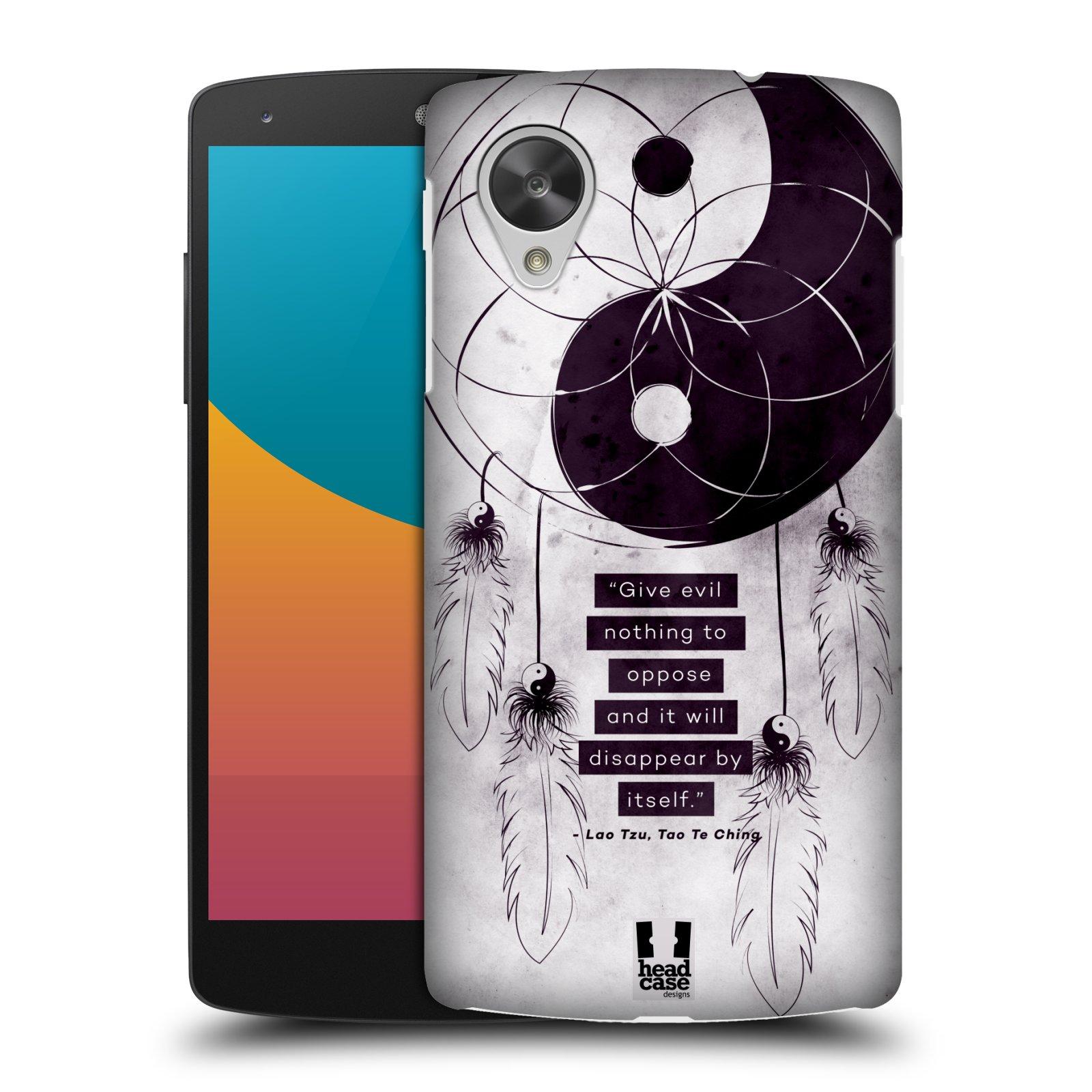 Plastové pouzdro na mobil LG Nexus 5 HEAD CASE Yin a Yang CATCHER (Kryt či obal na mobilní telefon LG Google Nexus 5 D821)