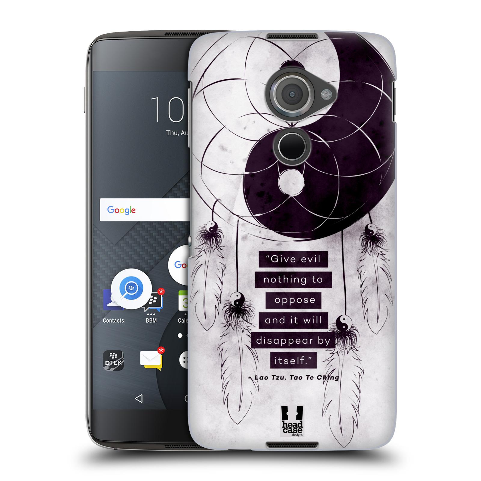 Plastové pouzdro na mobil Blackberry DTEK60 (Argon) - Head Case Yin a Yang CATCHER (Plastový kryt či obal na mobilní telefon Blackberry DTEK60 (Argon))
