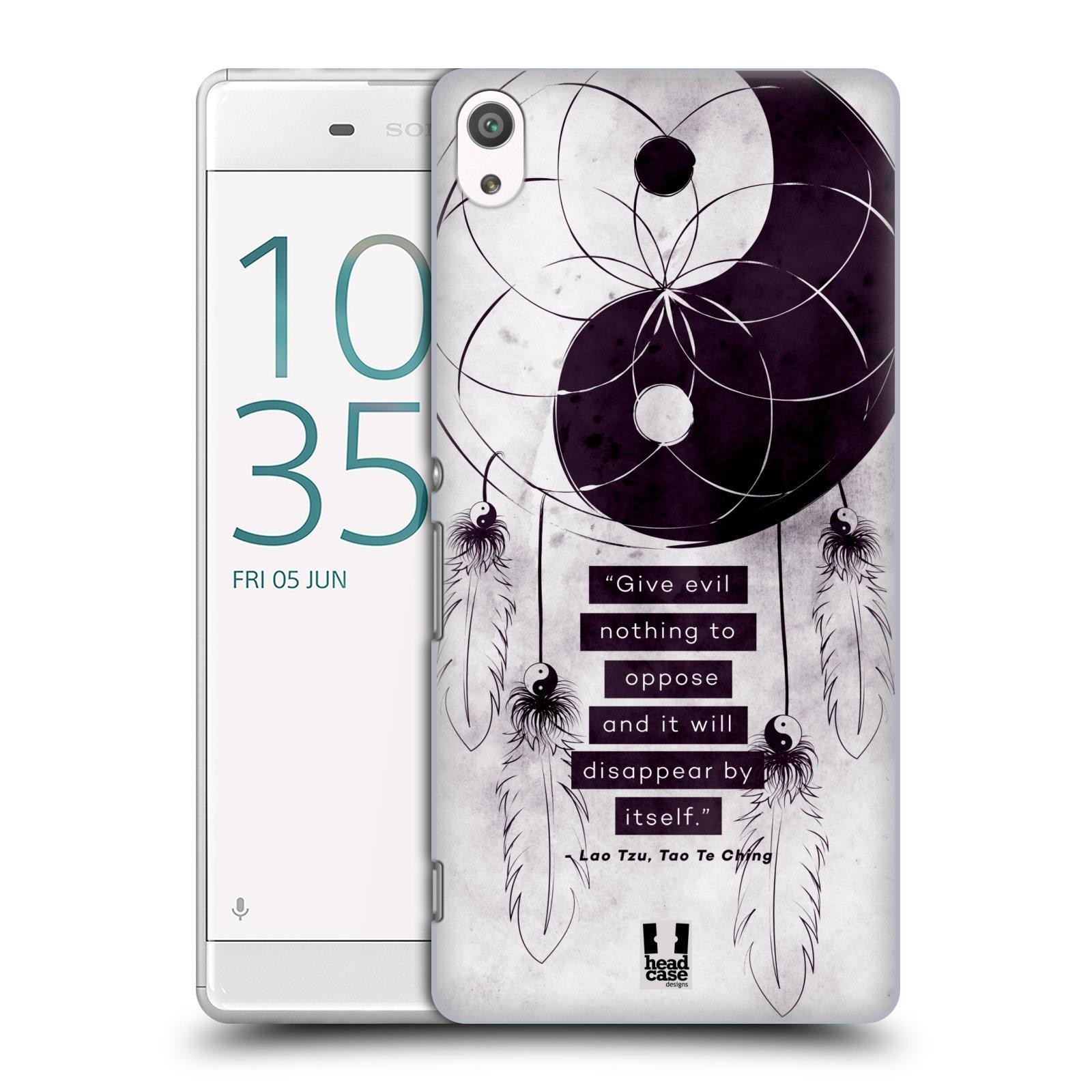 Plastové pouzdro na mobil Sony Xperia XA Ultra HEAD CASE Yin a Yang CATCHER (Plastový kryt či obal na mobilní telefon Sony Xperia XA Ultra F3211)