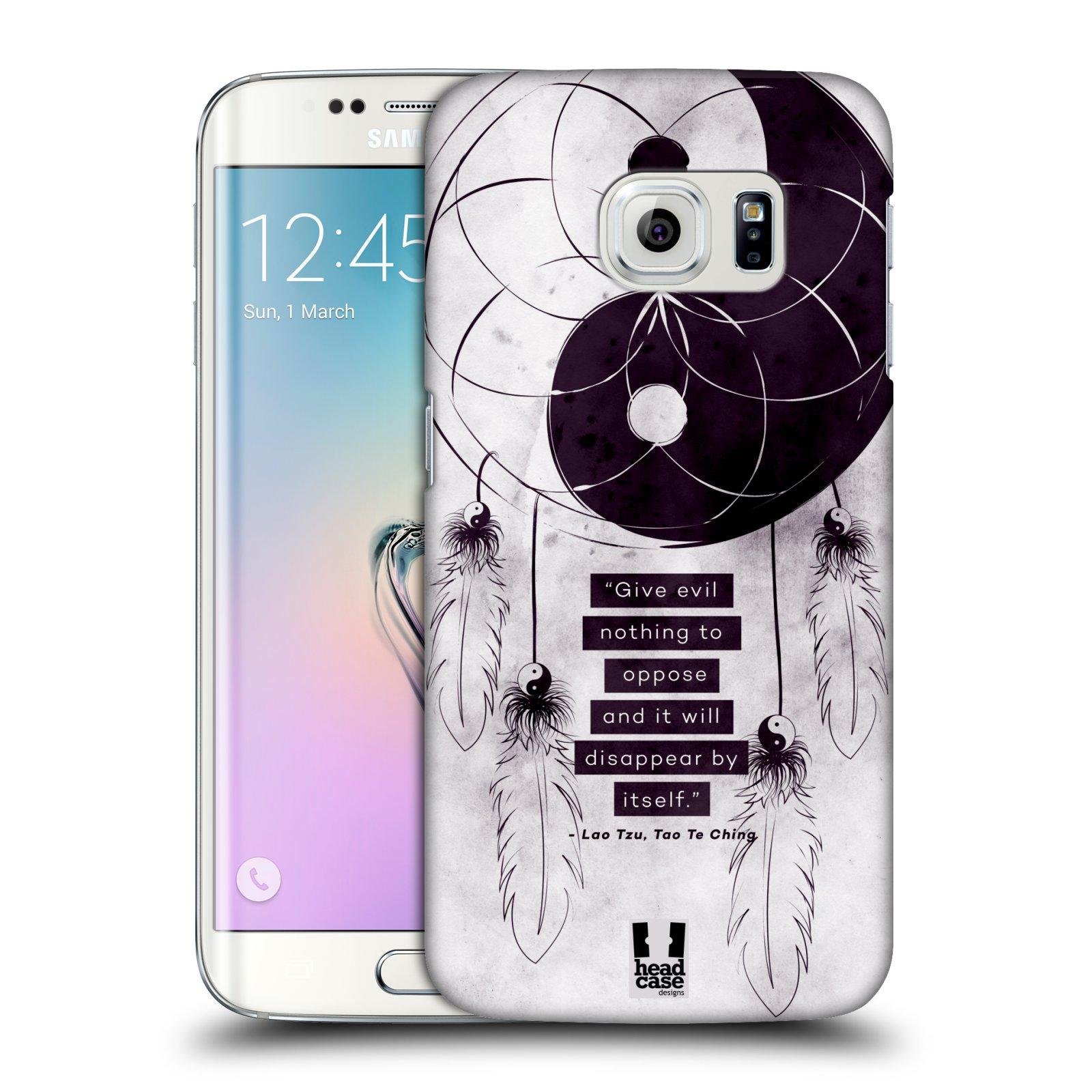 Plastové pouzdro na mobil Samsung Galaxy S6 Edge HEAD CASE Yin a Yang CATCHER (Kryt či obal na mobilní telefon Samsung Galaxy S6 Edge SM-G925F)