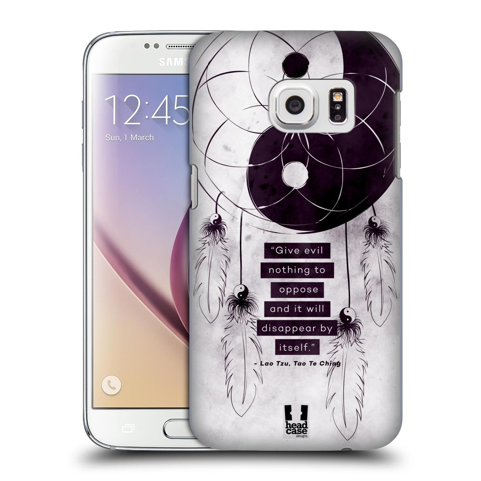 Plastové pouzdro na mobil Samsung Galaxy S7 HEAD CASE Yin a Yang CATCHER (Kryt či obal na mobilní telefon Samsung Galaxy S7 SM-G930F)