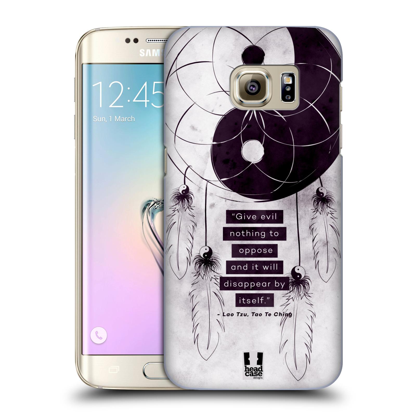 Plastové pouzdro na mobil Samsung Galaxy S7 Edge HEAD CASE Yin a Yang CATCHER (Kryt či obal na mobilní telefon Samsung Galaxy S7 Edge SM-G935F)