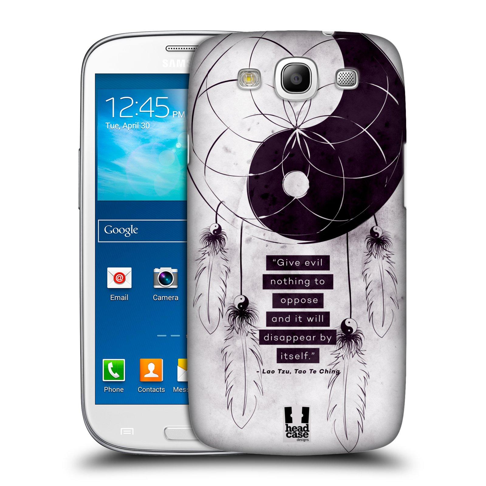 Plastové pouzdro na mobil Samsung Galaxy S3 Neo HEAD CASE Yin a Yang CATCHER