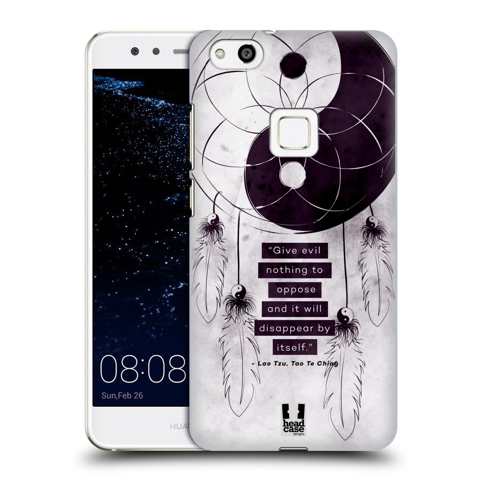 Plastové pouzdro na mobil Huawei P10 Lite Head Case - Yin a Yang CATCHER (Plastový kryt či obal na mobilní telefon Huawei P10 Lite Dual SIM (LX1/LX1A))