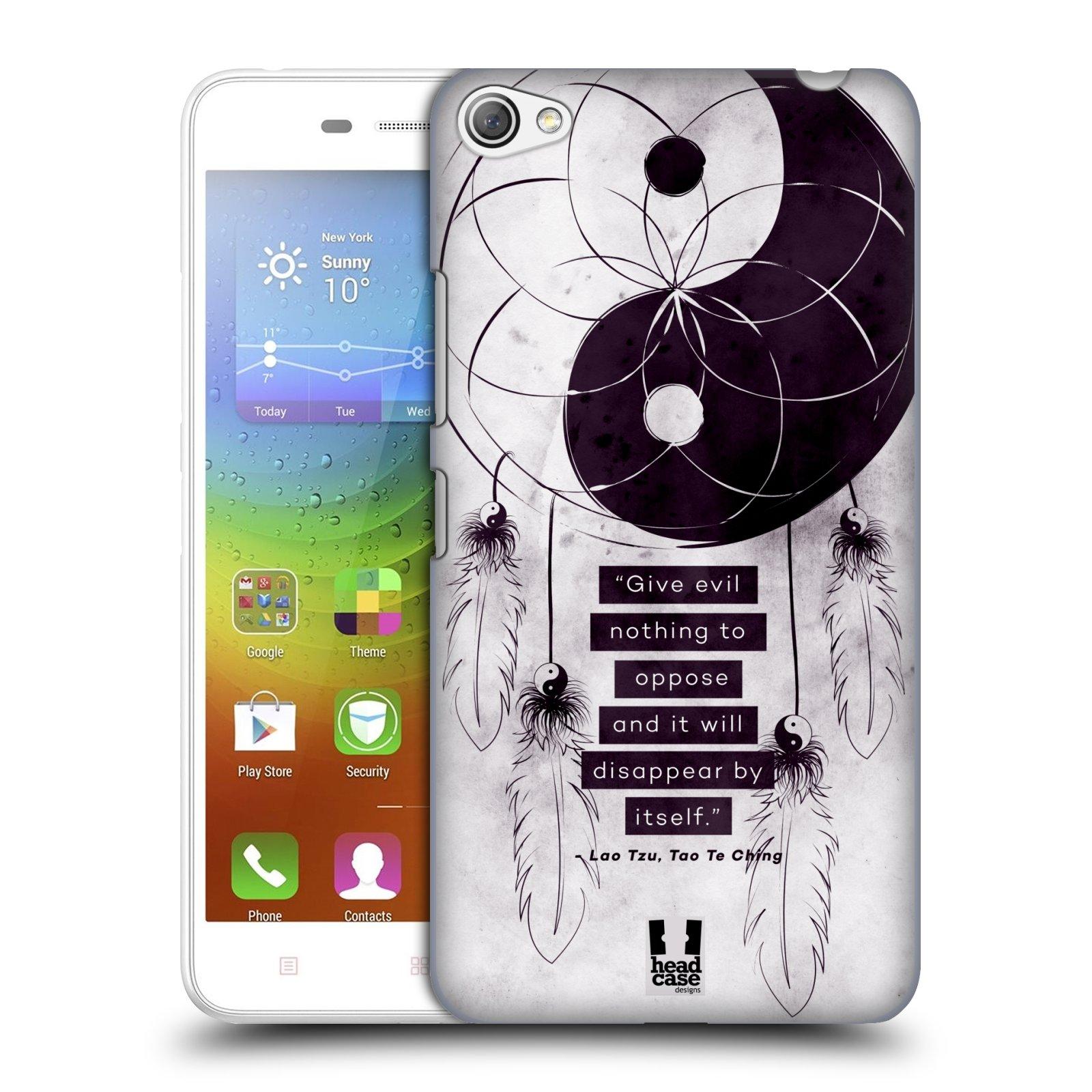 Plastové pouzdro na mobil Lenovo S60 HEAD CASE Yin a Yang CATCHER (Kryt či obal na mobilní telefon Lenovo S60)