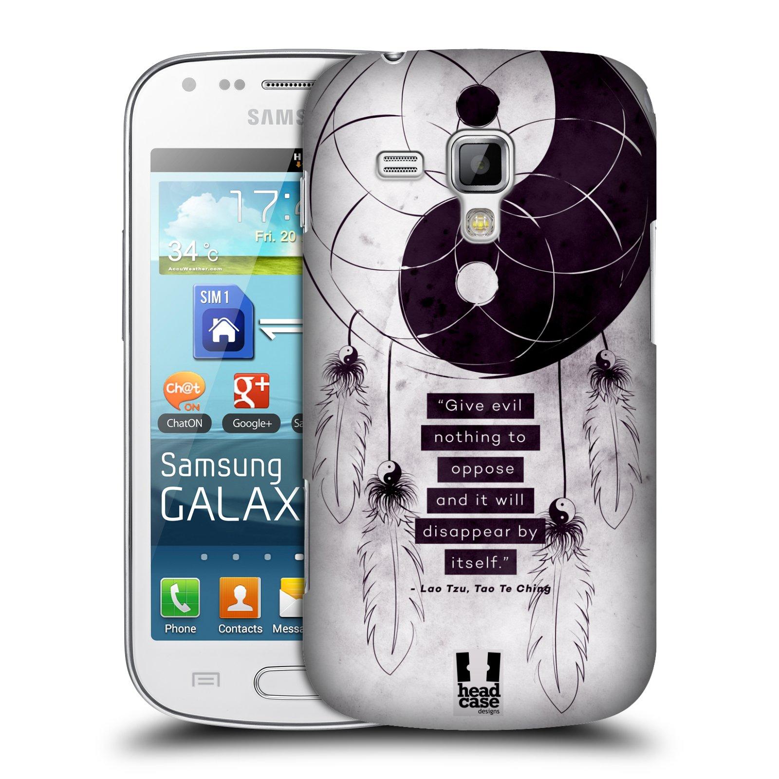 Plastové pouzdro na mobil Samsung Galaxy Trend Plus HEAD CASE Yin a Yang CATCHER (Kryt či obal na mobilní telefon Samsung Galaxy Trend Plus GT-S7580)