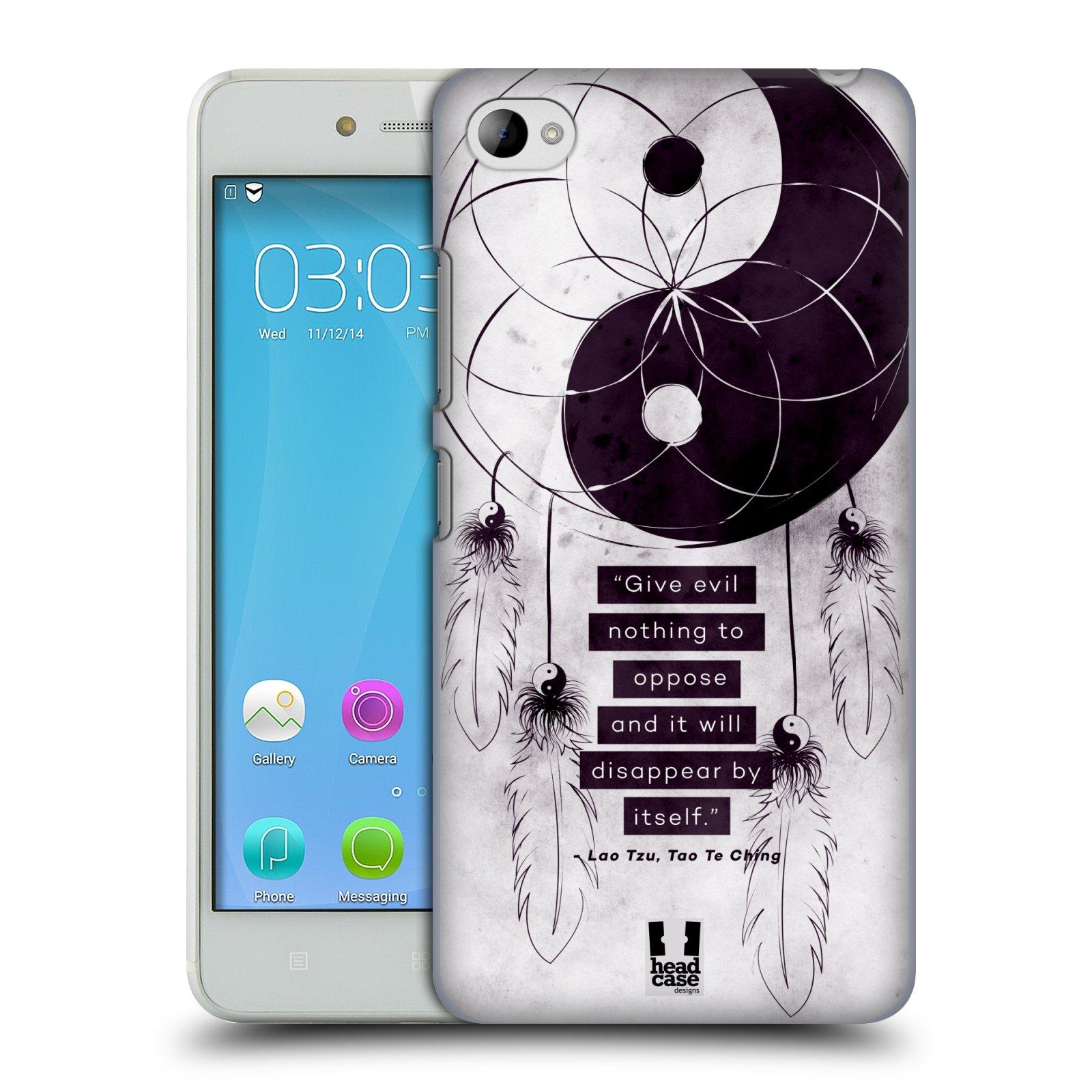 Plastové pouzdro na mobil Lenovo S90 HEAD CASE Yin a Yang CATCHER