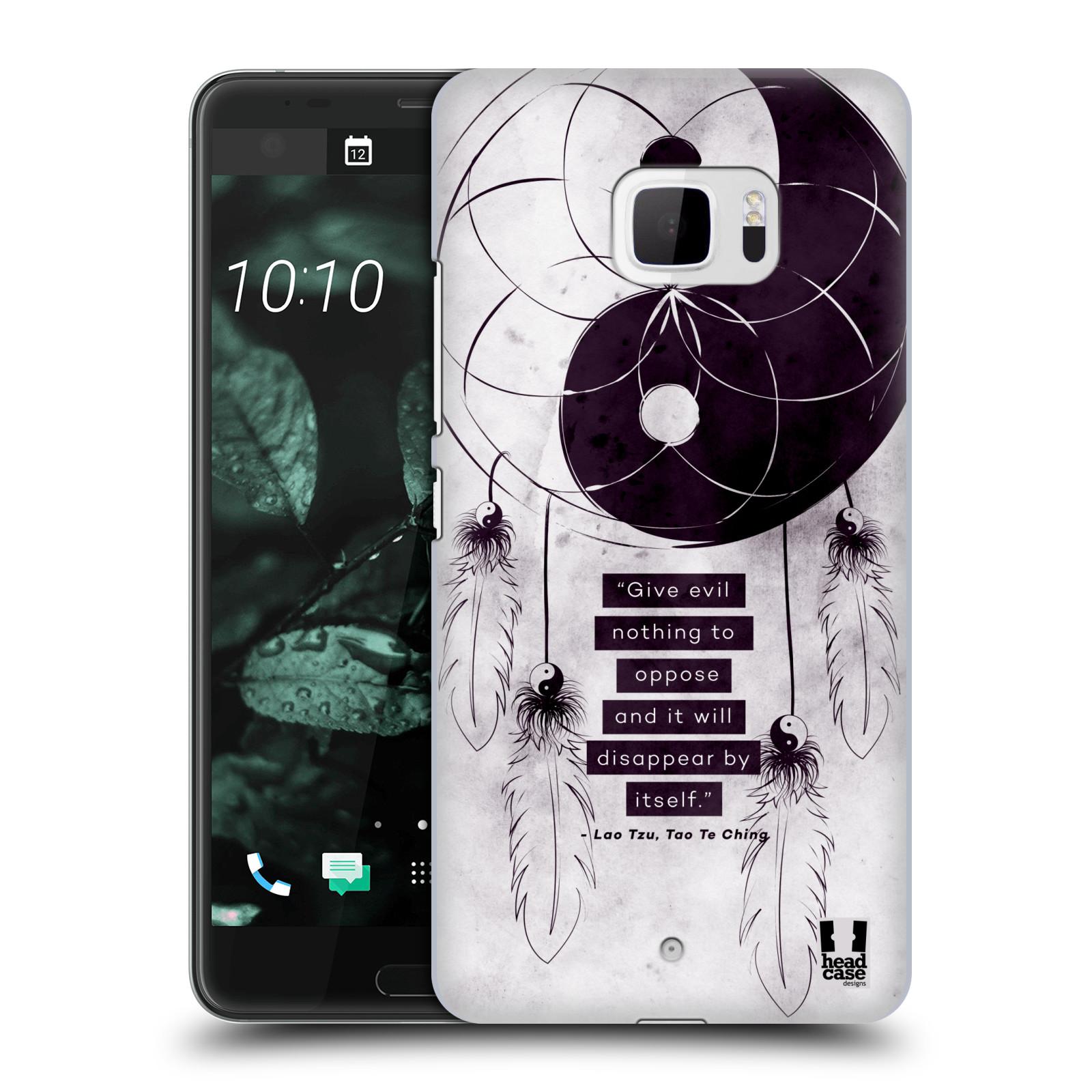 Plastové pouzdro na mobil HTC U Ultra Head Case - Yin a Yang CATCHER (Plastový kryt či obal na mobilní telefon HTC U Ultra (99HALT015-00))