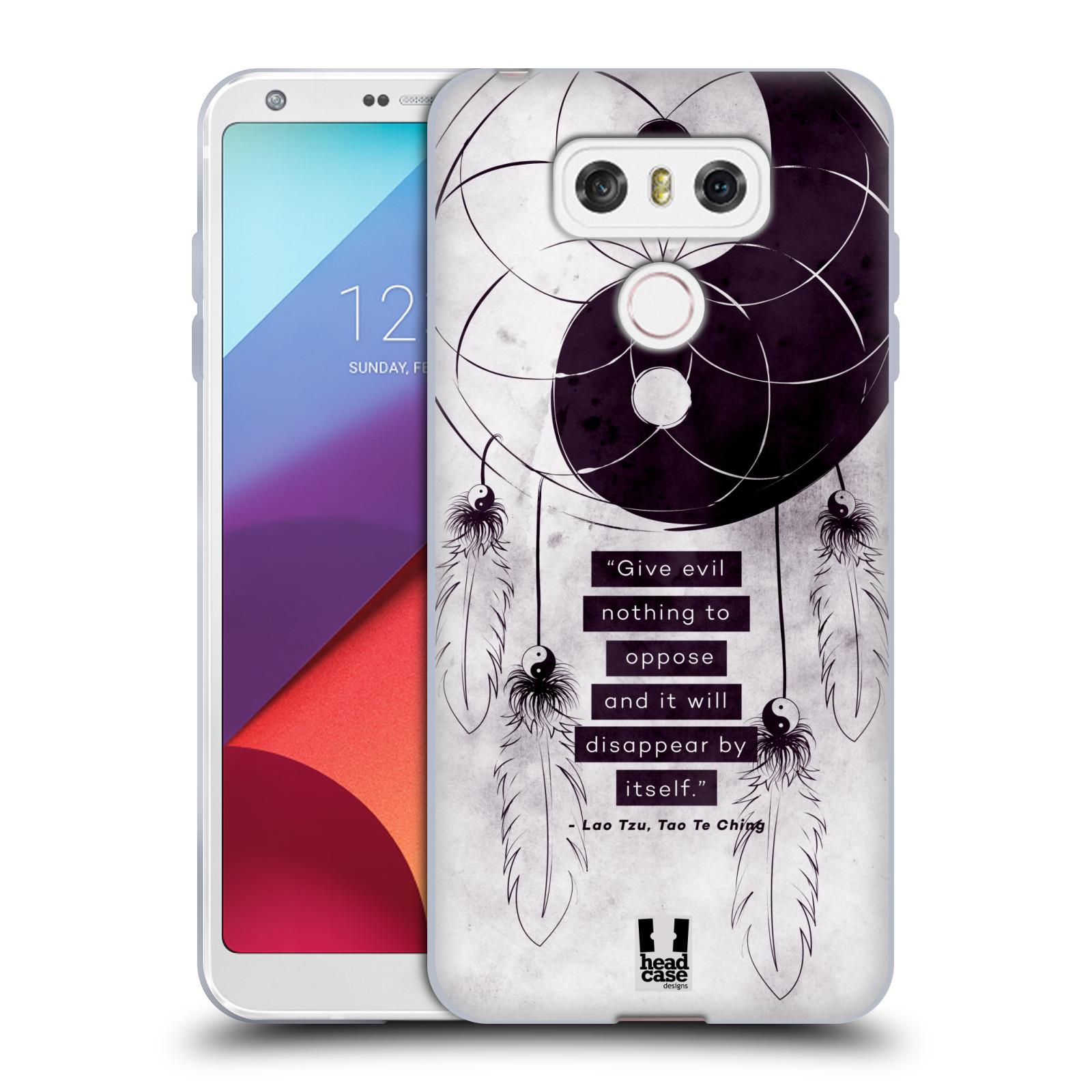 Silikonové pouzdro na mobil LG G6 - Head Case YIn a Yang CATCHER (Silikonový kryt či obal na mobilní telefon LG G6 H870 / LG G6 Dual SIM H870DS)