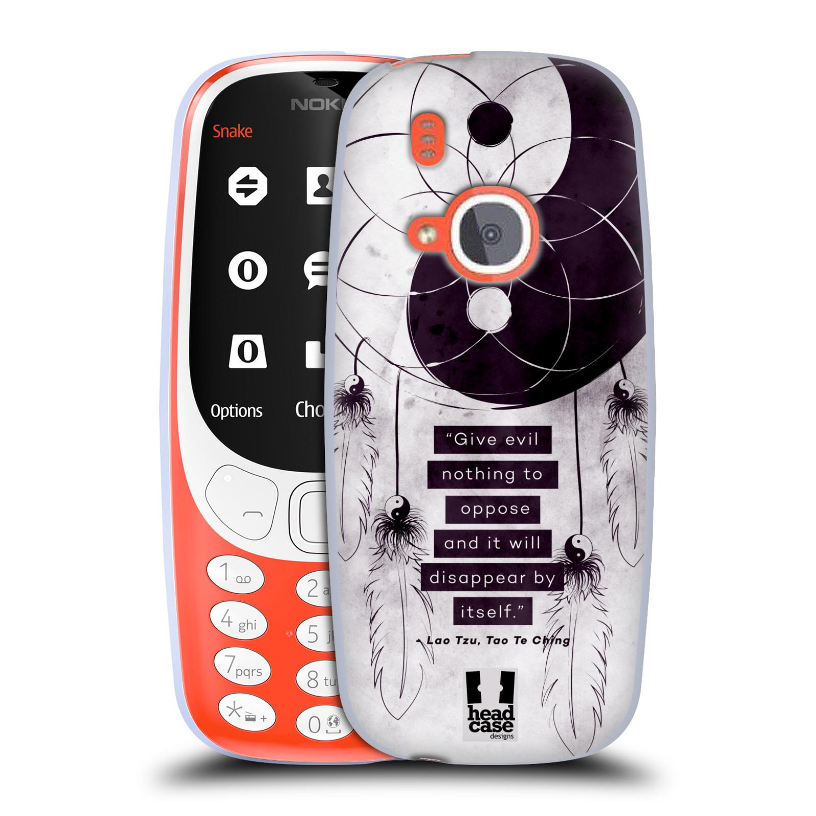 Silikonové pouzdro na mobil Nokia 3310 - Head Case - YIn a Yang CATCHER (Silikonový kryt či obal na mobilní telefon Nokia 3310 (2017) s motivem YIn a Yang CATCHER)