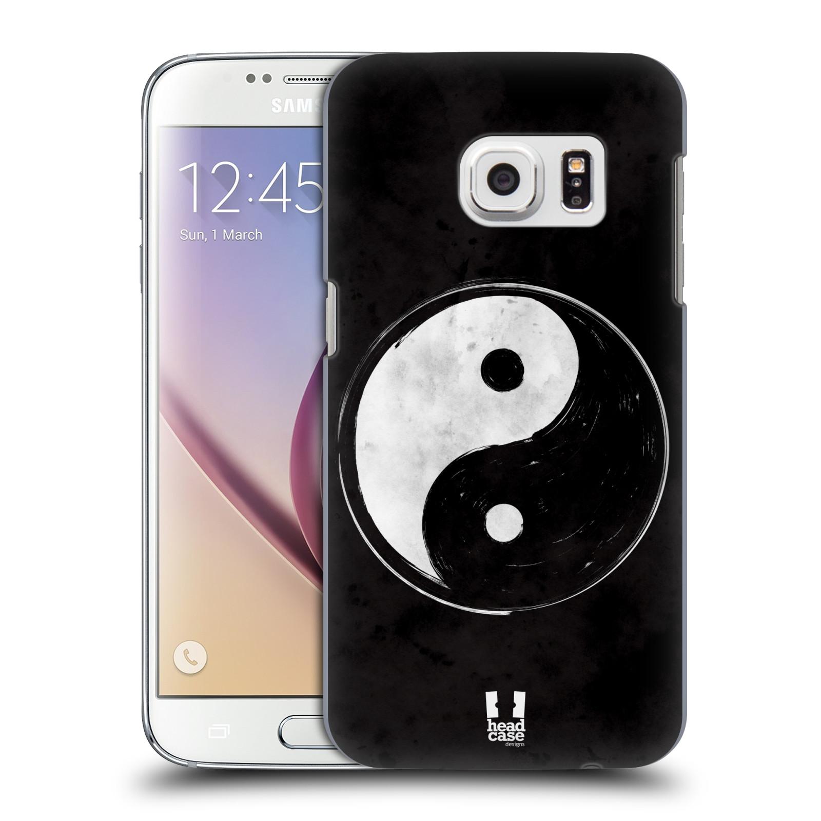 Plastové pouzdro na mobil Samsung Galaxy S7 HEAD CASE Yin a Yang BW (Kryt či obal na mobilní telefon Samsung Galaxy S7 SM-G930F)