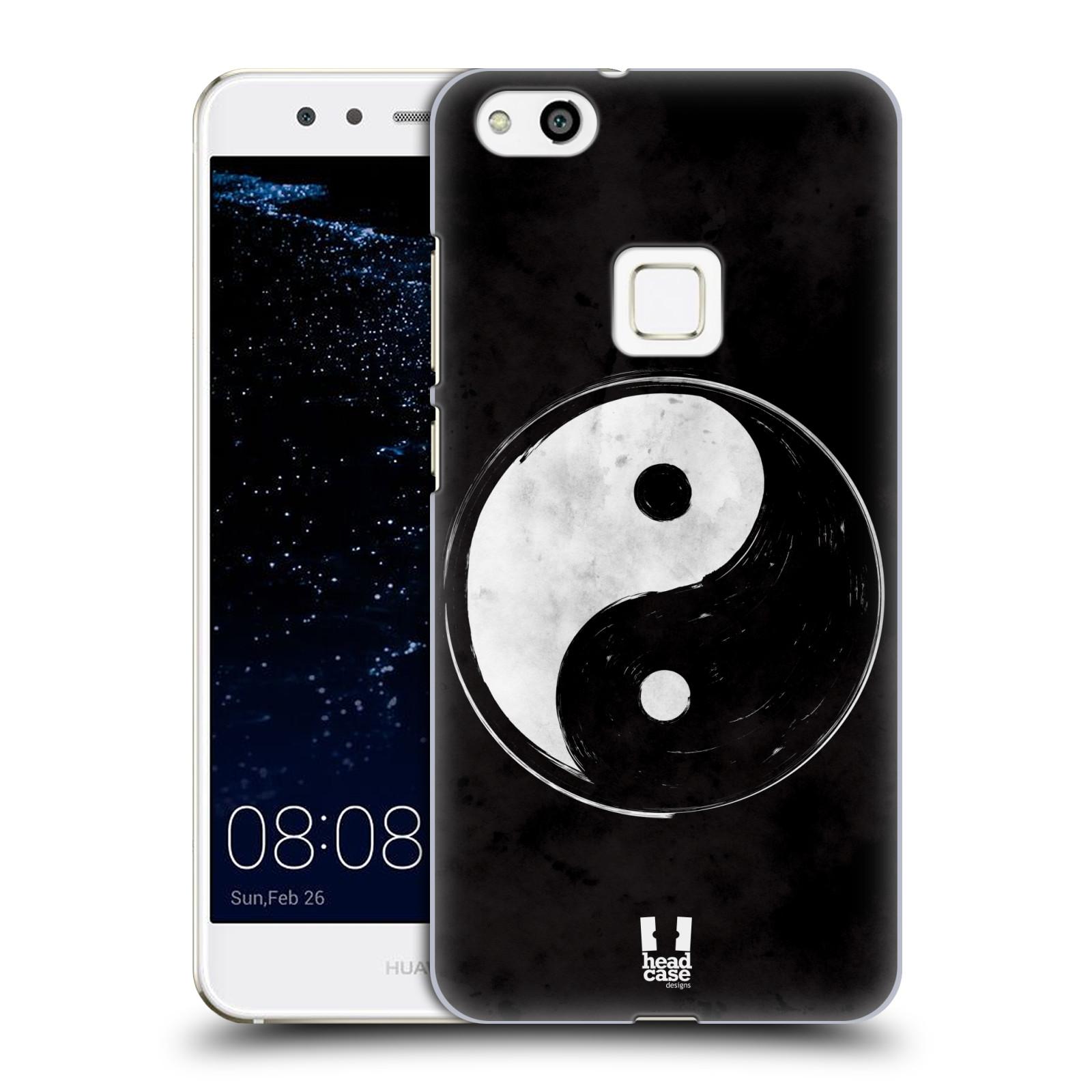 Plastové pouzdro na mobil Huawei P10 Lite Head Case - Yin a Yang BW (Plastový kryt či obal na mobilní telefon Huawei P10 Lite Dual SIM (LX1/LX1A))