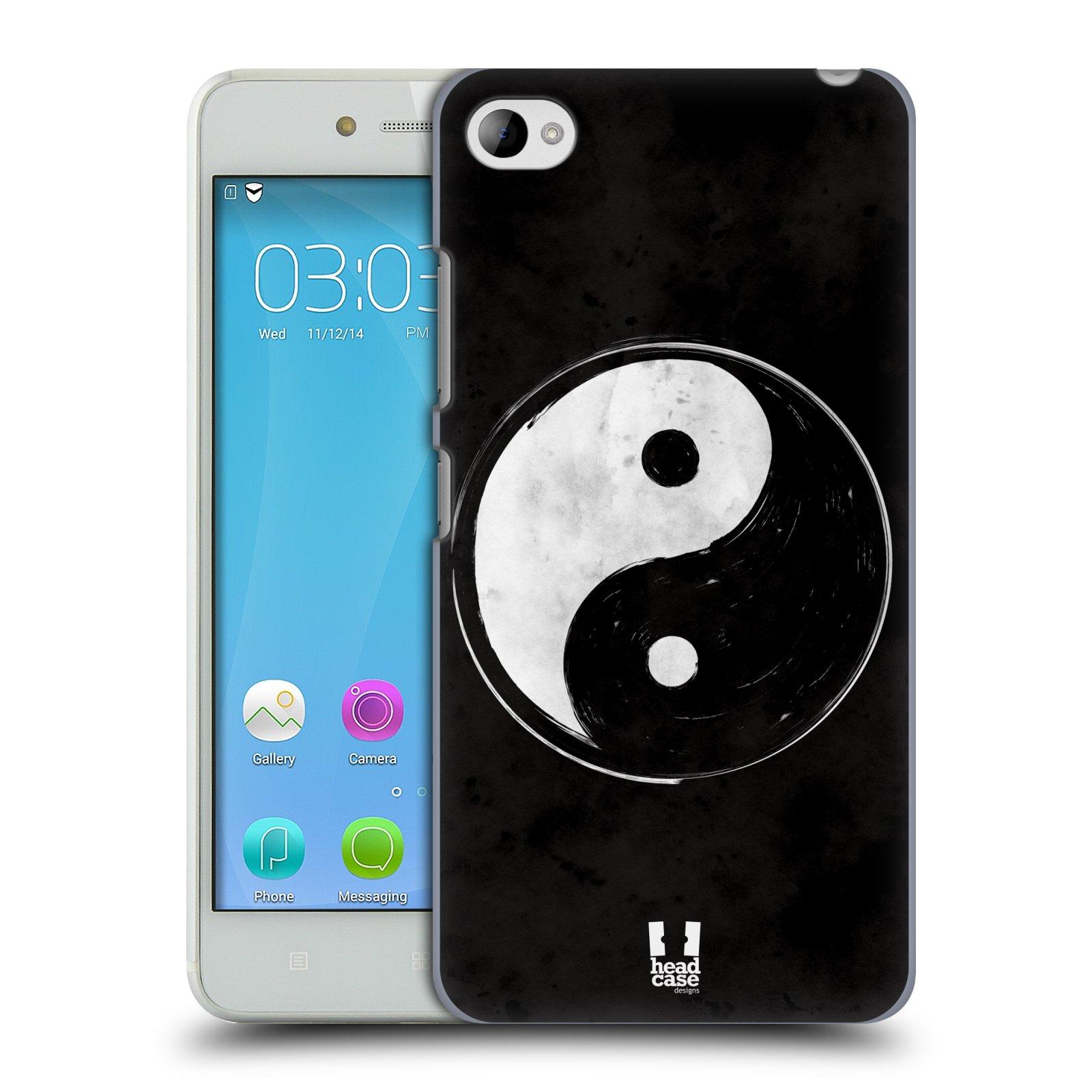 Plastové pouzdro na mobil Lenovo S90 HEAD CASE Yin a Yang BW (Kryt či obal na mobilní telefon Lenovo S90)
