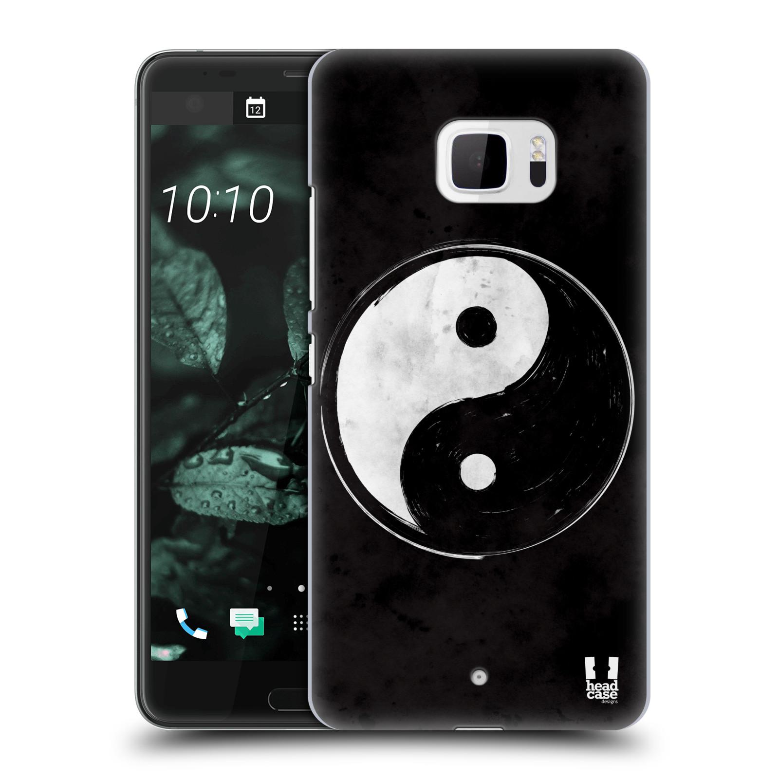 Plastové pouzdro na mobil HTC U Ultra Head Case - Yin a Yang BW (Plastový kryt či obal na mobilní telefon HTC U Ultra (99HALT015-00))