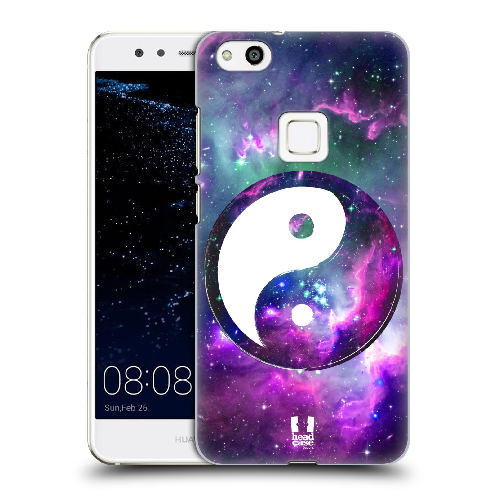 Plastové pouzdro na mobil Huawei P10 Lite Head Case - Yin a Yang PURPLE (Plastový kryt či obal na mobilní telefon Huawei P10 Lite Dual SIM (LX1/LX1A))