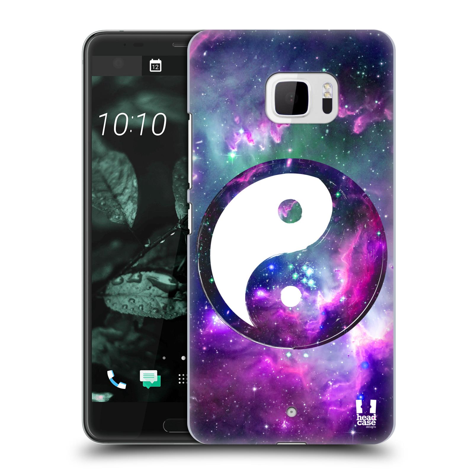 Plastové pouzdro na mobil HTC U Ultra Head Case - Yin a Yang PURPLE (Plastový kryt či obal na mobilní telefon HTC U Ultra (99HALT015-00))