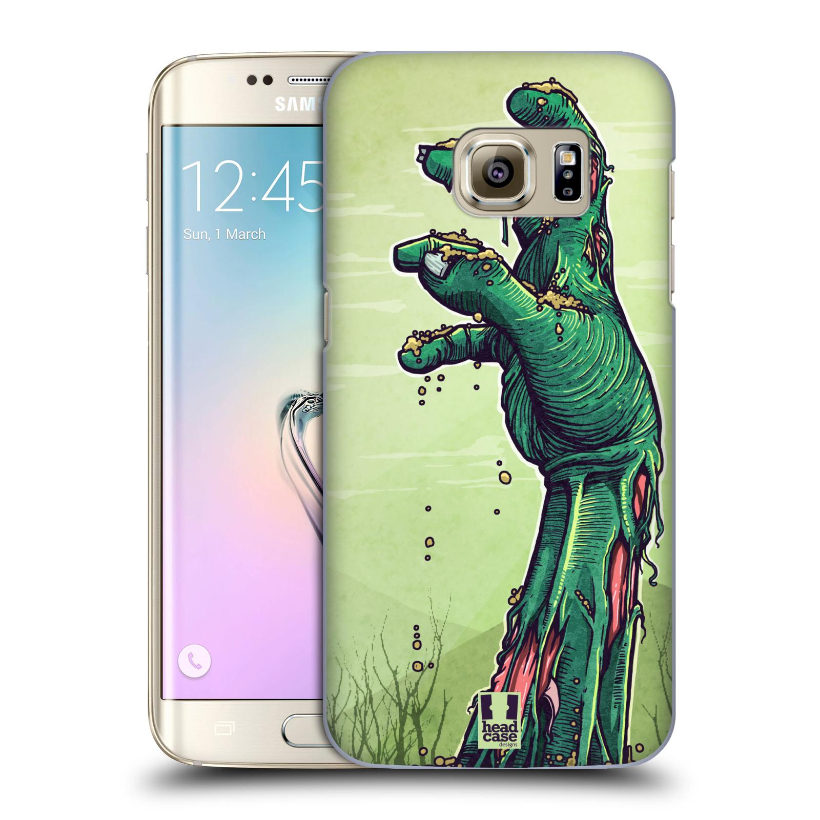 Plastové pouzdro na mobil Samsung Galaxy S7 Edge HEAD CASE ZOMBIE RUKA (Kryt či obal na mobilní telefon Samsung Galaxy S7 Edge SM-G935F)