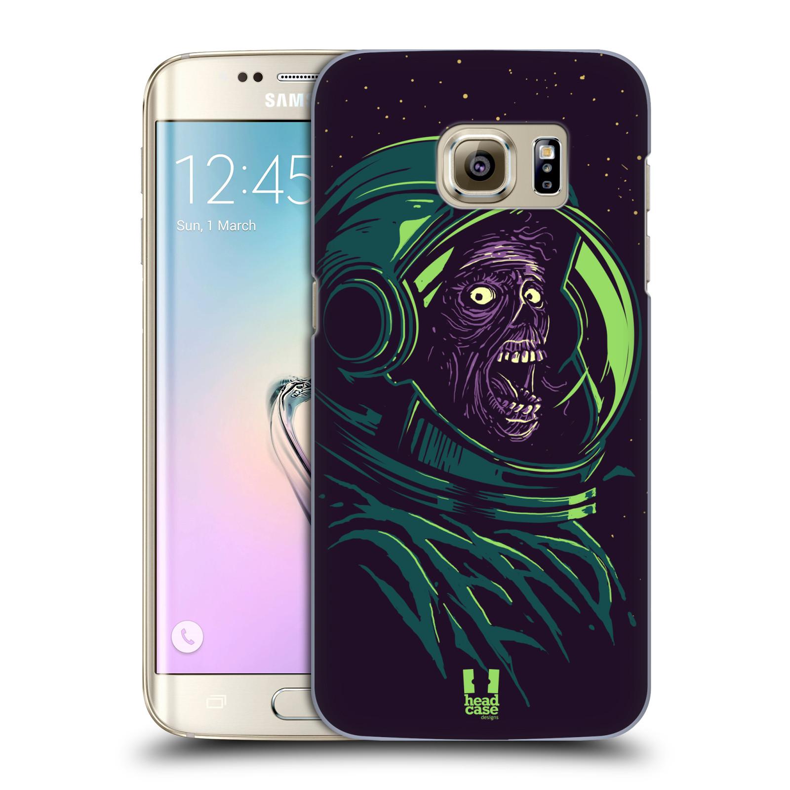 Plastové pouzdro na mobil Samsung Galaxy S7 Edge HEAD CASE ZOMBIE VESMÍR (Kryt či obal na mobilní telefon Samsung Galaxy S7 Edge SM-G935F)