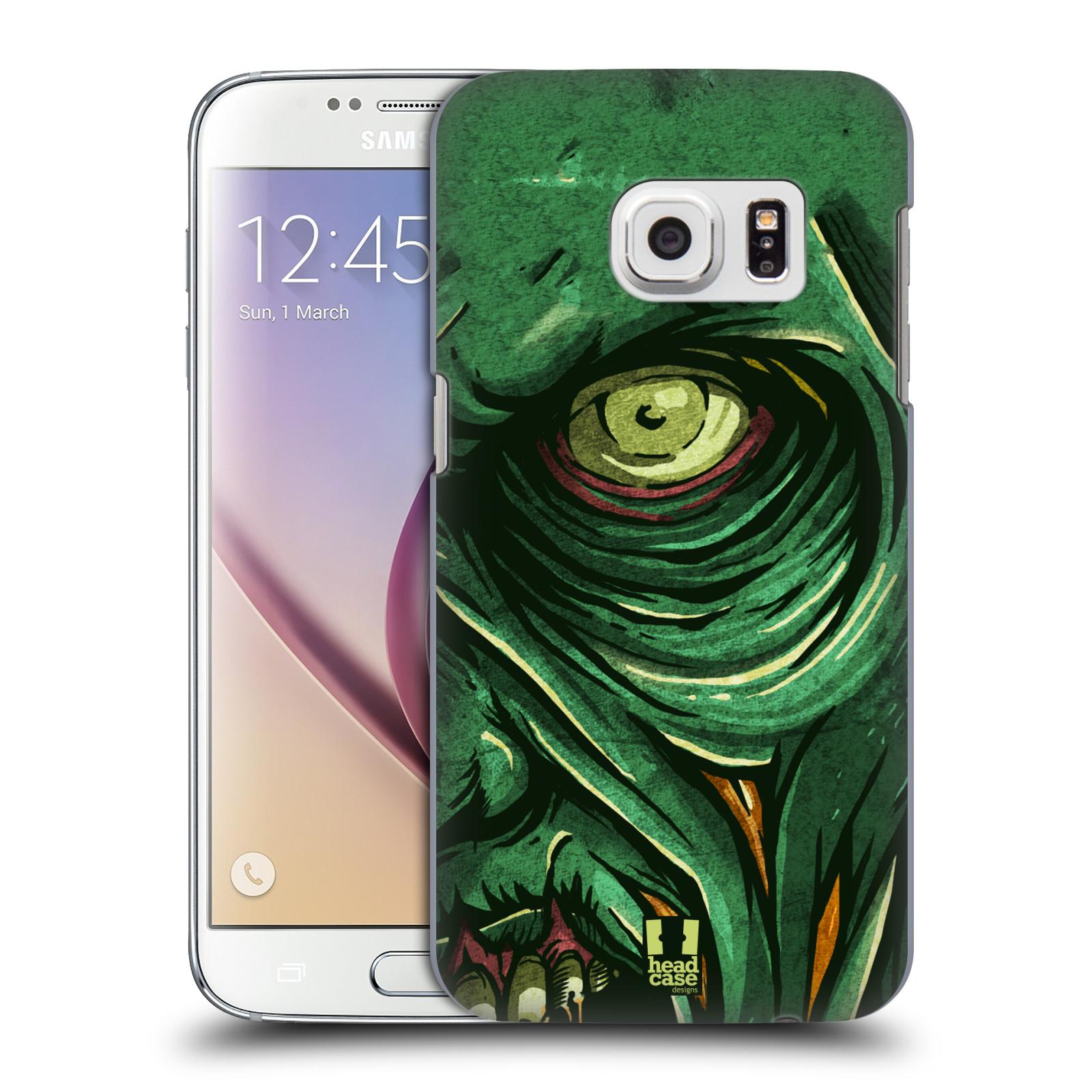 Plastové pouzdro na mobil Samsung Galaxy S7 HEAD CASE ZOMBIE TVÁŘ