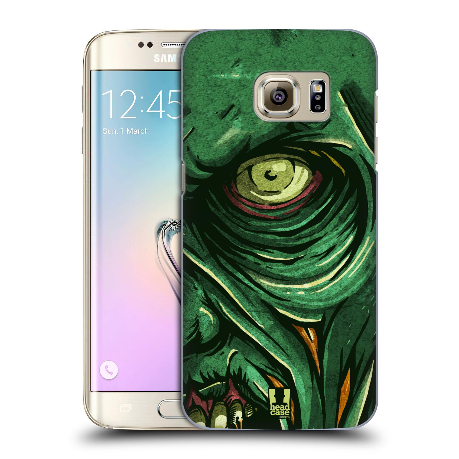 Plastové pouzdro na mobil Samsung Galaxy S7 Edge HEAD CASE ZOMBIE TVÁŘ (Kryt či obal na mobilní telefon Samsung Galaxy S7 Edge SM-G935F)