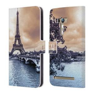 Flipové pouzdro na mobil Asus Zenfone Selfie ZD551KL HEAD CASE Paříž