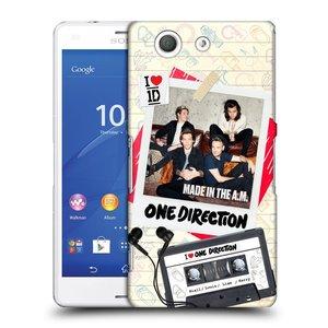 Plastové pouzdro na mobil Sony Xperia Z3 Compact D5803 HEAD CASE One Direction - Kazeta