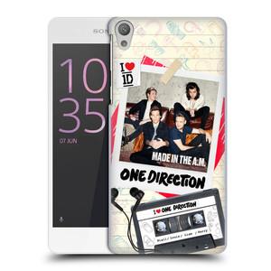 Plastové pouzdro na mobil Sony Xperia E5 HEAD CASE One Direction - Kazeta