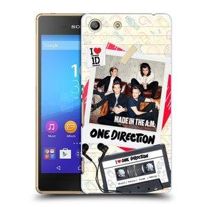 Plastové pouzdro na mobil Sony Xperia M5 HEAD CASE One Direction - Kazeta