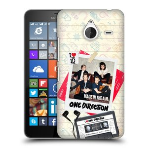 Plastové pouzdro na mobil Microsoft Lumia 640 XL HEAD CASE One Direction - Kazeta