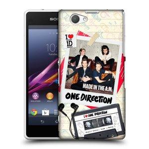 Plastové pouzdro na mobil Sony Xperia Z1 Compact D5503 HEAD CASE One Direction - Kazeta