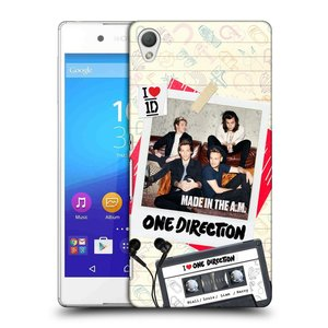 Plastové pouzdro na mobil Sony Xperia Z3+ (Plus) HEAD CASE One Direction - Kazeta