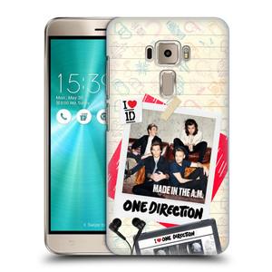 Plastové pouzdro na mobil Asus ZenFone 3 ZE520KL HEAD CASE One Direction - Kazeta