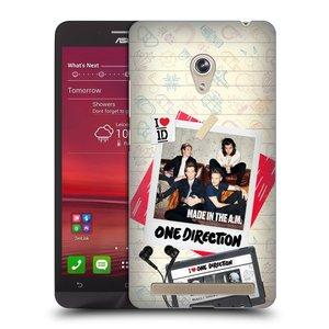 Plastové pouzdro na mobil Asus Zenfone 6 HEAD CASE One Direction - Kazeta