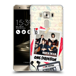 Plastové pouzdro na mobil Asus ZenFone 3 Deluxe ZS570KL HEAD CASE One Direction - Kazeta