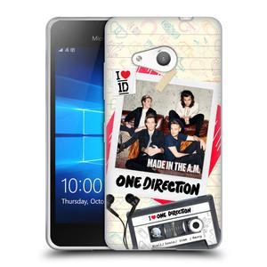 Silikonové pouzdro na mobil Microsoft Lumia 550 HEAD CASE One Direction - Kazeta