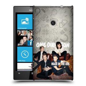 Plastové pouzdro na mobil Nokia Lumia 520 HEAD CASE One Direction - Na Gaučíku