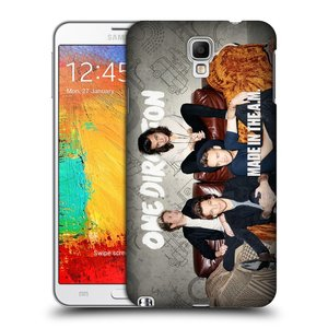 Plastové pouzdro na mobil Samsung Galaxy Note 3 Neo HEAD CASE One Direction - Na Gaučíku