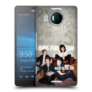 Plastové pouzdro na mobil Microsoft Lumia 950 XL HEAD CASE One Direction - Na Gaučíku